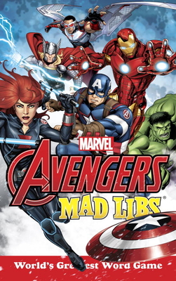 Marvel's Avengers Mad Libs Cover Image