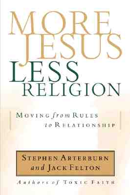 Cover for More Jesus, Less Religion