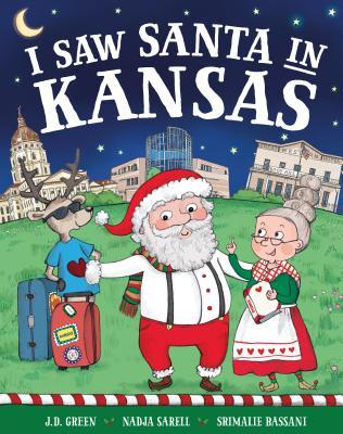 I Saw Santa in Kansas Cover Image