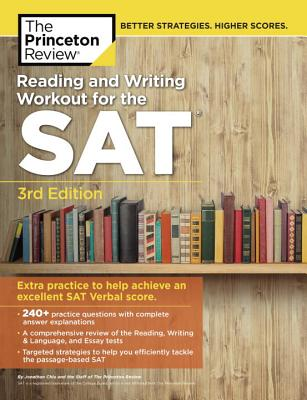 Reading & Writing Workout for the SAT, 3rd Edition cover image