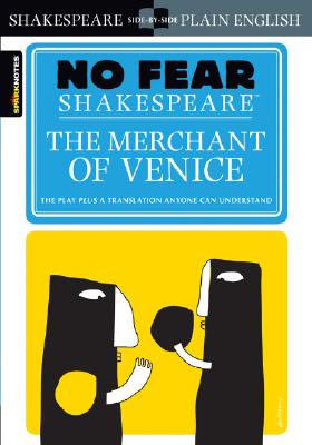 The Merchant of Venice (No Fear Shakespeare), 10 (Sparknotes No Fear Shakespeare #10) Cover Image