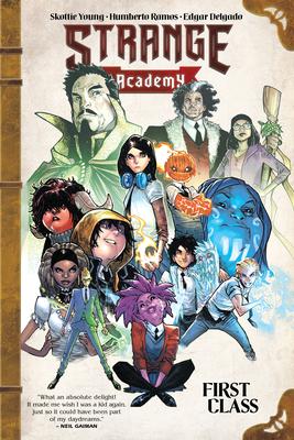 Cover for Strange Academy