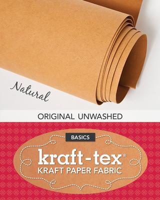 Kraft-Tex Natural Original Unwashed: Kraft Paper Fabric, 19