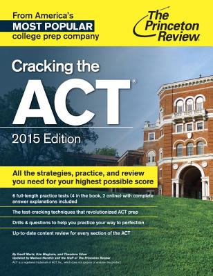 Cracking the ACT with 6 Practice Tests Cover Image