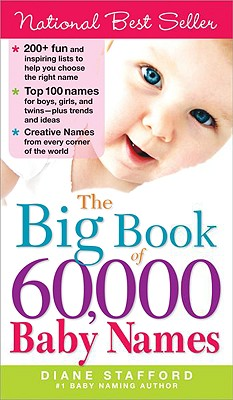 The Big Book of 60,000 Baby Names Cover Image