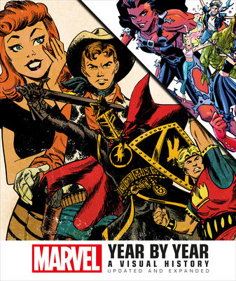 Marvel Year by Year Cover Image