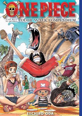 One Piece Color Walk Compendium: East Blue to Skypiea  Cover Image