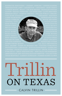 Trillin on Texas (Bridwell Texas History) Cover Image