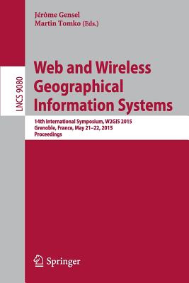 Cover for Web and Wireless Geographical Information Systems
