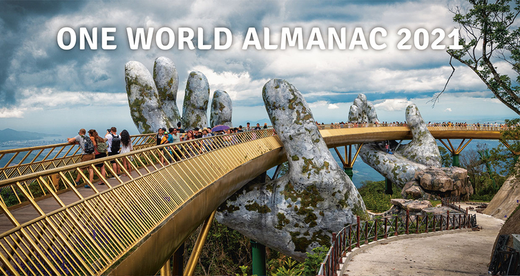One World Almanac 2021 Cover Image