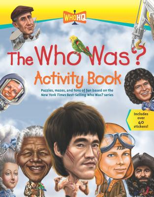Cover for The Who Was? Activity Book