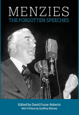 Menzies: The Forgotten Speeches Cover Image