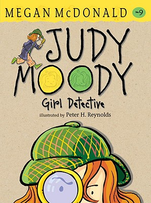 Judy Moody, Girl Detective Cover