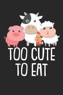 Kochbuch zum ausfüllen: für vegane und vegetarische Rezepte, dein persönliches Nachschlagewerk mit deinen eigenen Rezepten; Motiv: Too cute to Cover Image
