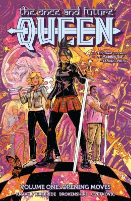 The Once and Future Queen Cover Image
