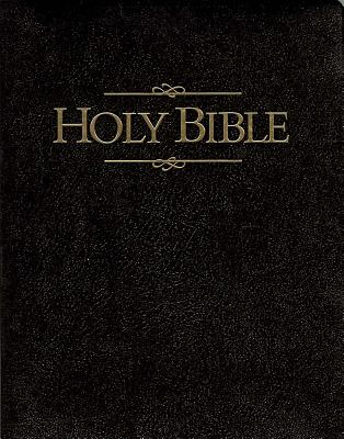Giant Print Bible-KJV Cover Image