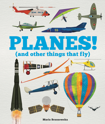 Planes!: (And Other Things That Fly) Cover Image