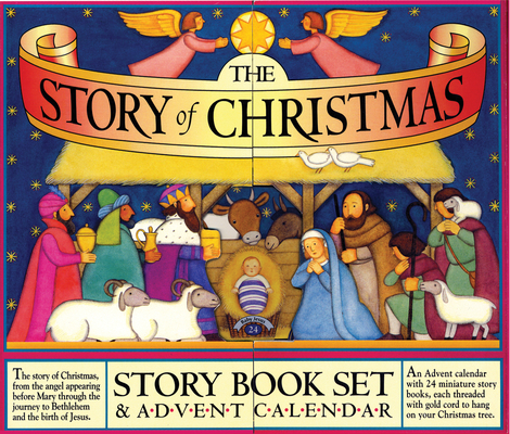 The Story of Christmas Story Book Set and Advent Calendar Cover Image