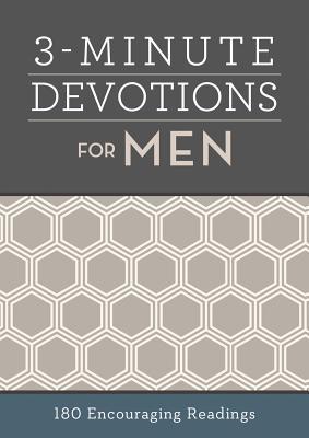 3-Minute Devotions for Men: 180 Encouraging Readings Cover Image