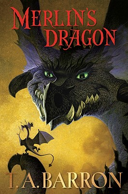 Merlin's Dragon (Merlin Saga #6) Cover Image
