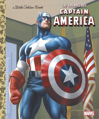 The Courageous Captain America Cover