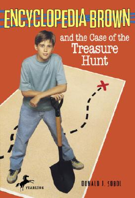 Encyclopedia Brown and the Case of the Treasure Hunt Cover