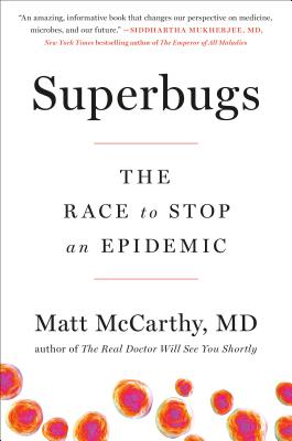 Superbugs: The Race to Stop an Epidemic Cover Image