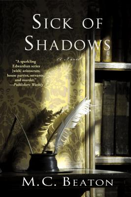 Sick of Shadows: An Edwardian Murder Mystery (Edwardian Murder Mysteries #3) Cover Image