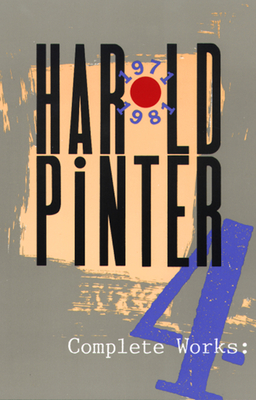 Cover for Complete Works, Volume IV (Pinter)