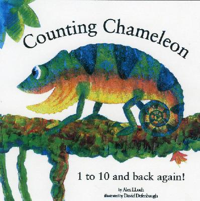 Counting Chameleon: 1 to 10... a Jungle Story! Cover Image