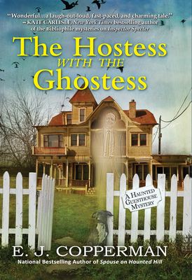 The Hostess with the Ghostess: A Haunted Guesthouse Mystery Cover Image