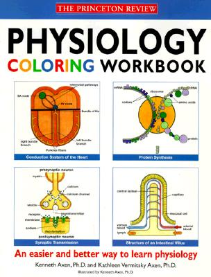 physiology coloring workbook cover image - Physiology Coloring Book