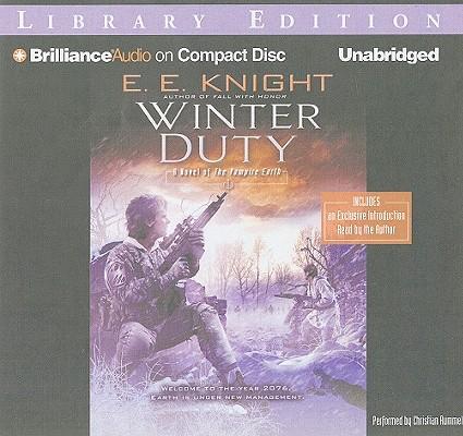 Winter Duty (Vampire Earth (Audio) #8) Cover Image