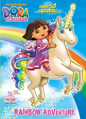 Rainbow Adventure Dora The Explorer Paperback