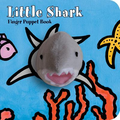 Little Shark: Finger Puppet Book: (Puppet Book for Baby, Little Toy Board Book, Baby Shark) (Little Finger Puppet Board Books) Cover Image