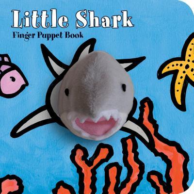Little Shark: Finger Puppet Book (Little... (Chronicle Board Books)) Cover Image