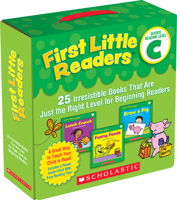 First Little Readers: Guided Reading Level C (Parent Pack): 25 Irresistible Books That Are Just the Right Level for Beginning Readers Cover Image