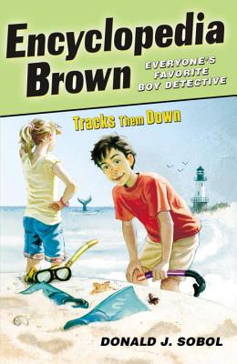 Encyclopedia Brown Tracks Them Down Cover Image