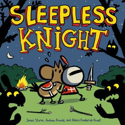 Sleepless Knight (Adventures in Cartooning) Cover Image
