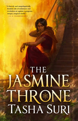 The Jasmine Throne (The Burning Kingdoms #1) Cover Image