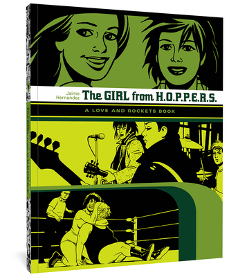 The Girl from HOPPERS: A Love and Rockets Book Cover Image