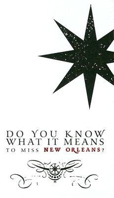 Do You Know What It Means to Miss New Orleans? Cover