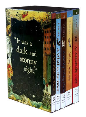 The Wrinkle in Time Quintet - Digest Size Boxed Set (A Wrinkle in Time Quintet) Cover Image