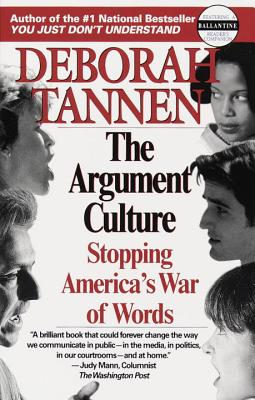 The Argument Culture Cover