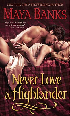 Never Love a Highlander Cover