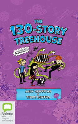 The 130-Story Treehouse: Laser Eyes and Annoying Flies Cover Image