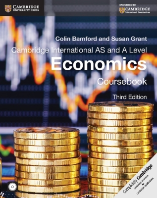 Cambridge International AS and A Level Economics Coursebook [With CDROM] (Cambridge International Examinations) Cover Image