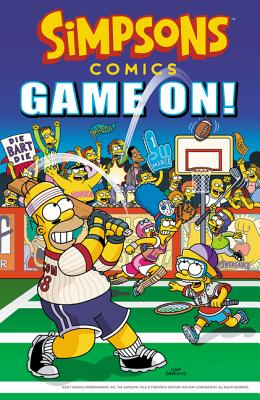 Simpsons Comics Game On! Cover Image