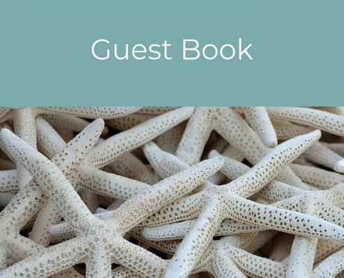 Guest Book (Hardcover): Guest book, air bnb book, visitors book, holiday home, comments book, holiday cottage: Guest book, air bnb book, visit Cover Image