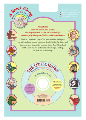 The Little House Book & CD Cover Image